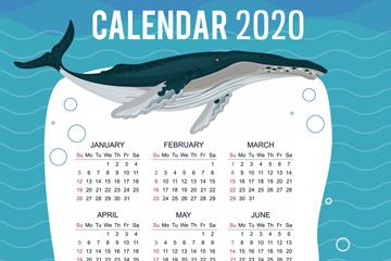 2020年��意座�^�L年�v矢量素材