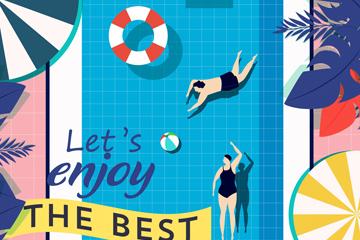 ��意夏季游泳池海�笫噶克夭�