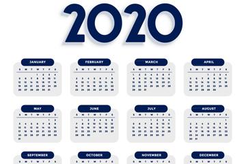 ���2020年年�v�O�矢量素材
