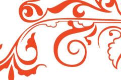 古典风格矢量花纹素材