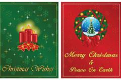 2010年的圣诞节矢量素材下载