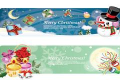 2009圣诞节矢量素材