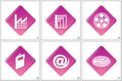 GRAPHIC电子商务矢量图标