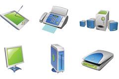 BackIcon电器和办公设备矢量图标