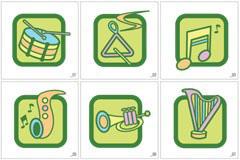 GRAPHIC各种乐器矢量图标