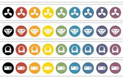 CATEGORI简洁风格购物矢量图标