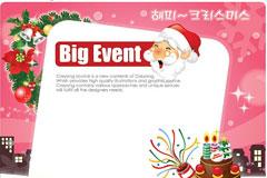 2009圣诞节矢量素材下载