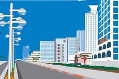 城市建筑矢量素材