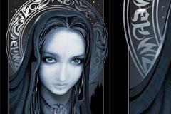 1款AI格式CG魔幻女性矢量素材