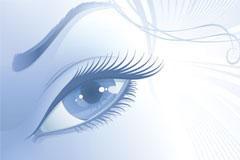 迷人的眼睛矢量素材