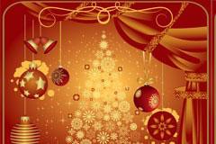 圣诞节布置EPS矢量素材