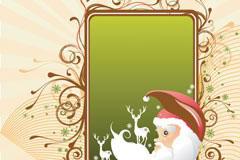 两款圣诞节装饰EPS矢量素材