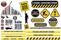多款个性实用的销售和维修图标矢量素材