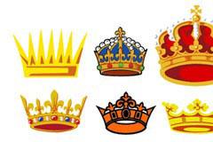 多款精美的皇冠矢量素材