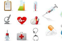 医疗用品图标系列矢量素材