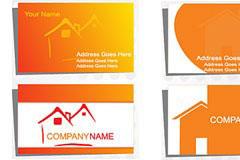 3款房地产卡片模板矢量素材