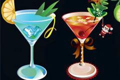 几款清凉漂亮的夏日饮品矢量素材