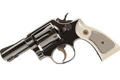 一款逼真的左轮手枪矢量素材