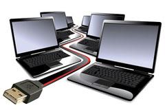 笔记本电脑矢量素材