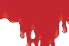 恐怖血迹另类背景矢量素材