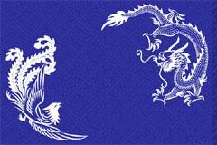 中国古典龙凤花纹矢量素材