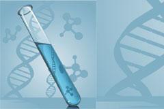 试管与基因矢量素材