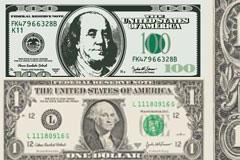 美元纸币矢量素材