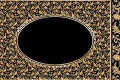 一款经典欧式花纹边框矢量素材