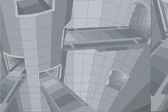 3D风格建筑矢量素材