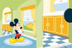 Disney经典卡通人物米奇矢量素材
