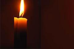 蜡烛和跳动的烛光矢量素材