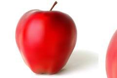 AI格式红苹果矢量素材