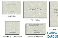 花纹模板卡片EPS矢量素材