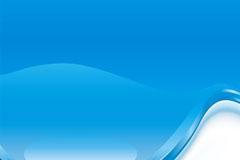 晶莹剔透的蓝色水背景矢量素材