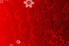 中国风浮雕富贵花纹背景矢量素材