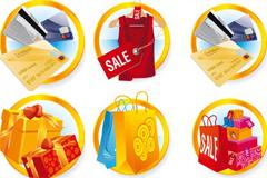 多款精美消费购物图标矢量素材