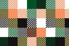 秋冬色布料质感平铺背景矢量素材