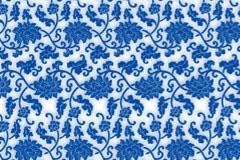 青花瓷花纹背景矢量素材