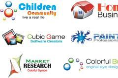 几款web风格实用logo模板矢量素材