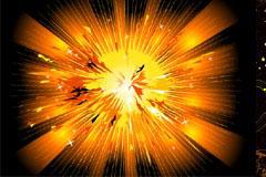 2款超酷爆炸风格背景矢量素材