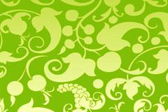 绿色时尚暗纹背景矢量素材