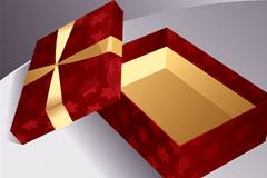 几款精美礼盒矢量素材