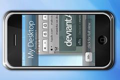 iphone手机PSD分层设计图