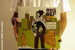 一组精美的黑胶唱片封面设计