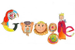 "Doodle 4 Google ""我的中国""谷歌国际少年绘画大赛"