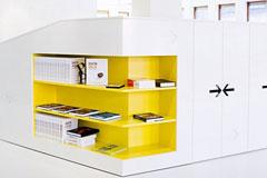 蛋黄颜色的办公室设计