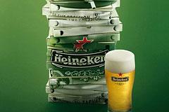 荷兰喜力Heineken高端淡啤广告欣