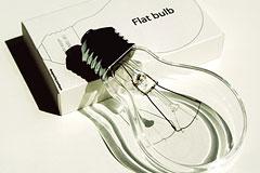 Flat bulb扁灯泡