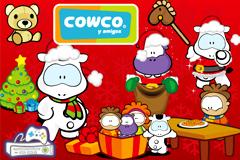 多款圣诞主题可爱卡通动物矢量素材