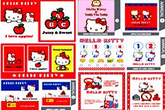 Hello Kitty可爱卡通形象矢量大全